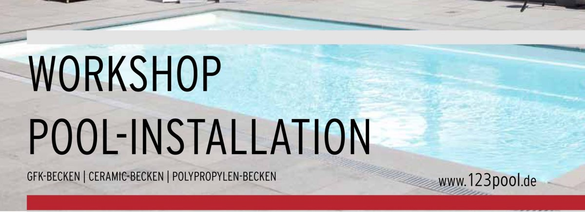 Workshop_Poolinstallation