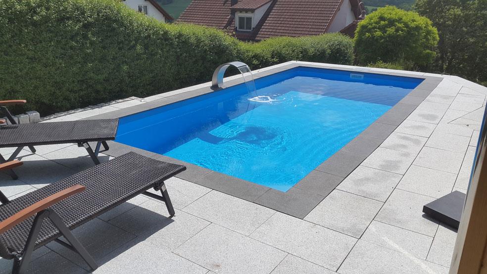 PP-Pool blau